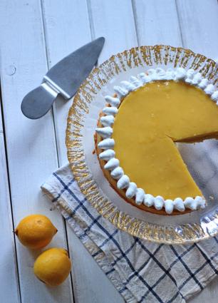 Recette de tarte au citron et amandes