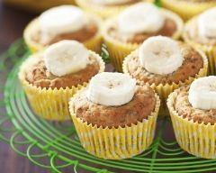 Recette muffins aux bananes écrasées