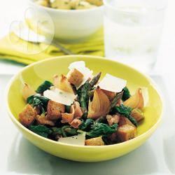 Recette épinards et asperges parmesane – toutes les recettes ...