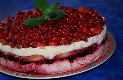 Recette délice aux fruits rouges (dessert aux fruits)