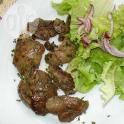 Recette salade de foies de volaille – toutes les recettes allrecipes