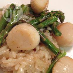 Recette risotto aux asperges et coquilles saint jacques – toutes ...