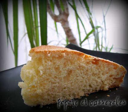 Recette de gâteau aux deux yaourts et à la crème de riz