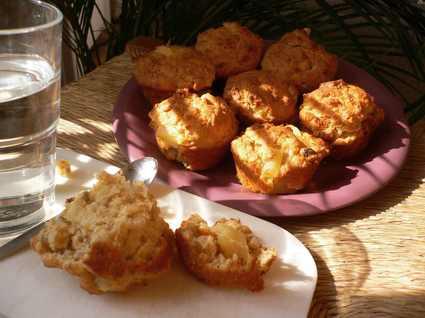 Recette de muffins noisettines à l'ananas