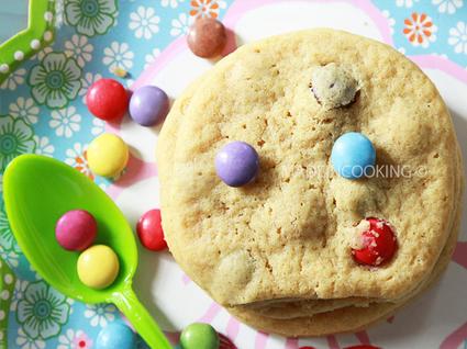 Recette de cookies aux smarties®