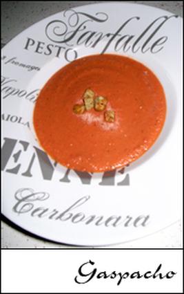 Recette de gaspacho andalou traditionnel