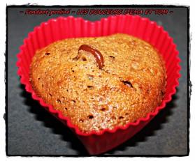 Mini-muffin au chocolat praliné pour 6 personnes