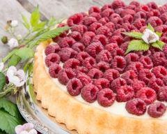 Recette tarte aux framboises, pâte maison