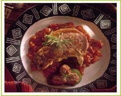 Recette côtes de porc à la fondue de tomates