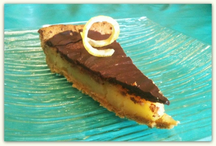 Recette de tarte au citron chocolatée