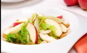 Salade de pommes aux cèpes et châtaignes pour 4 personnes ...
