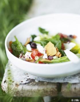 Salade de feta à la grecque pour 6 personnes