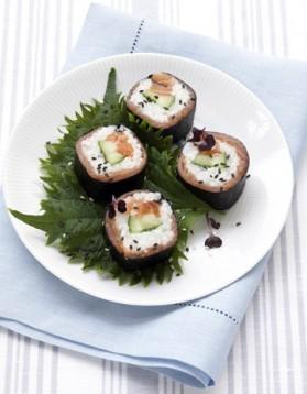 Makis aux deux saumons pour 4 personnes