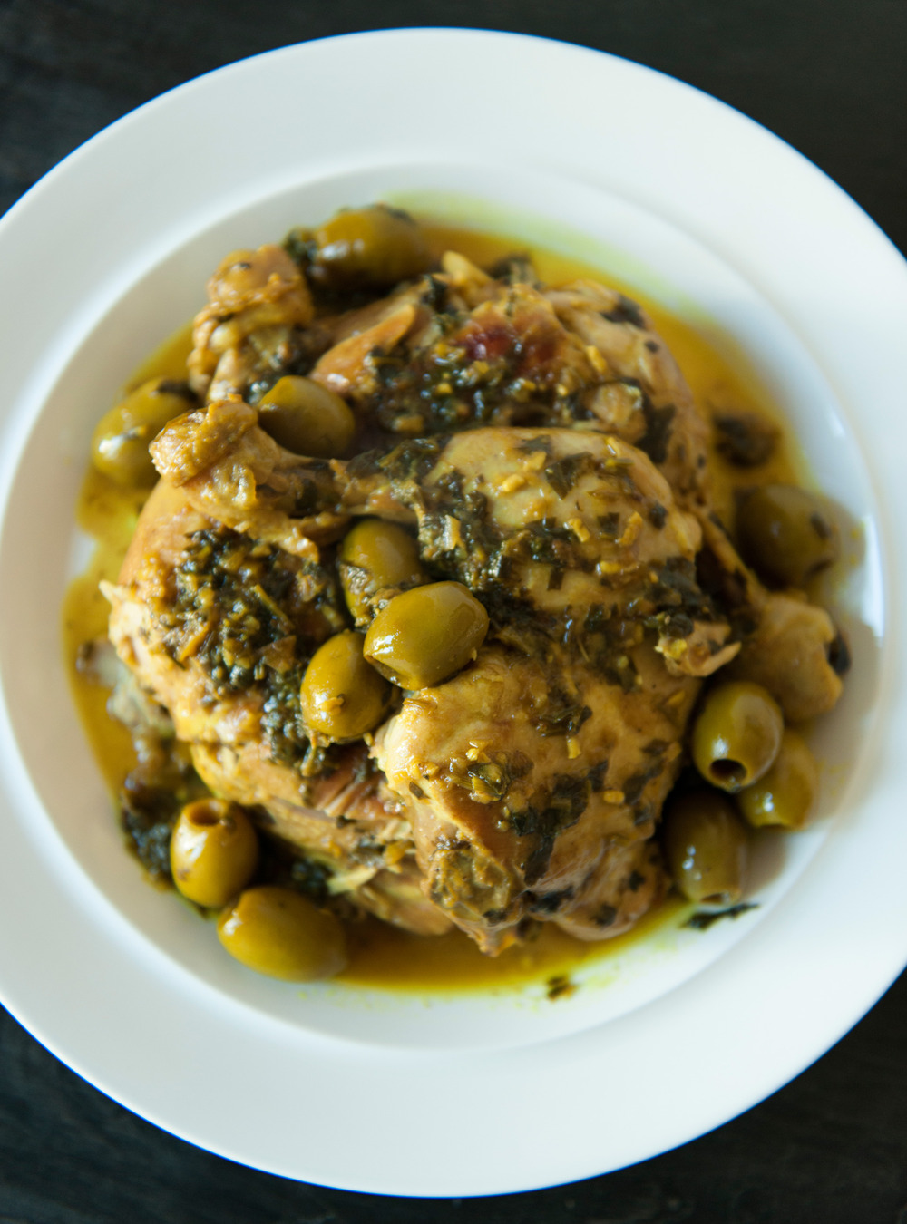 Poulet aux olives de danièle henkel | ricardo