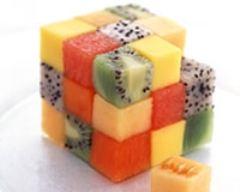Recette rubicube de fruits