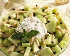 Recette salade au melon vert