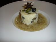 Recette de risotto sucré aux olives confites et compotée de fenouil ...