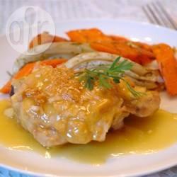 Recette escalopes de poulet au jus d'orange – toutes les recettes ...