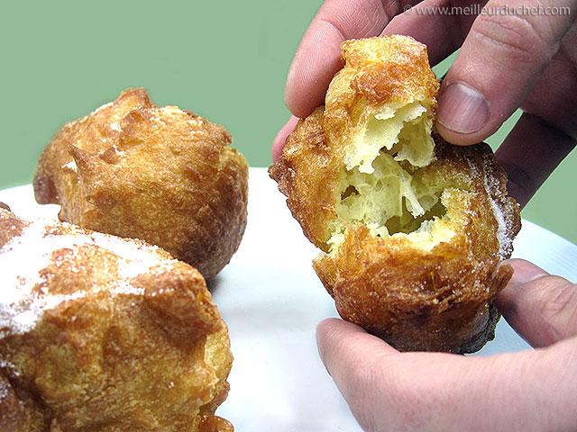 Beignets  nos recettes  pâte à beignet  meilleurduchef.com