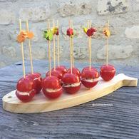 Recette de tomates cerise farcies à la ricotta