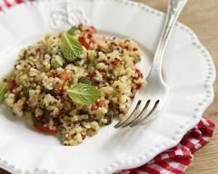 Recette taboulé de quinoa pimenté