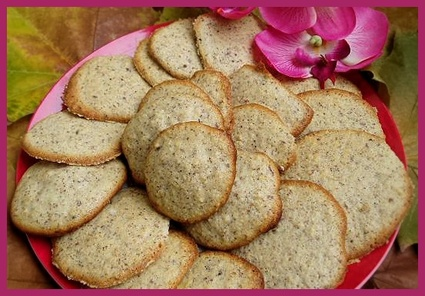 Recette de biscuits noisettes-amandes