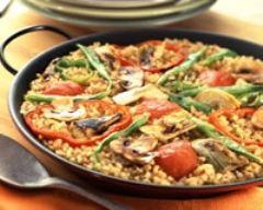 Recette paella végétarienne