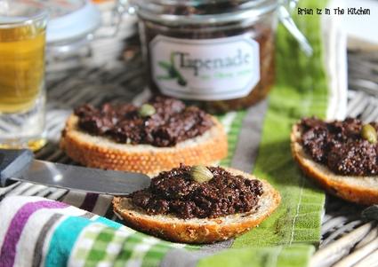 Recette de tapenade aux olives noires sans anchois