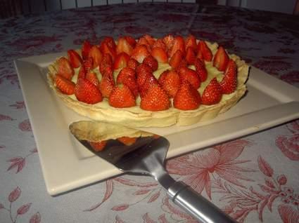Recette de tarte aux fraises et à la crème