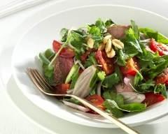 Recette salade thaï au boeuf pimenté
