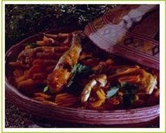 Recette poulet aux épices et aux carottes