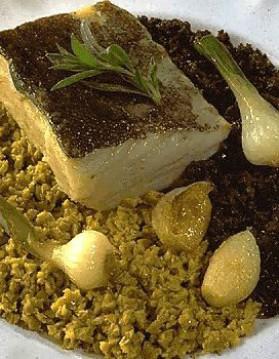 Filets de morue aux deux olives pour 6 personnes