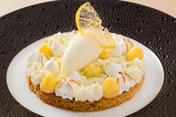 Recette de sablé breton, crème au citron meringuée, sorbet ...