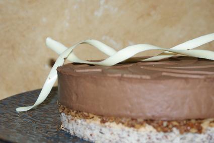 Recette de royal au chocolat et à la crème anglaise