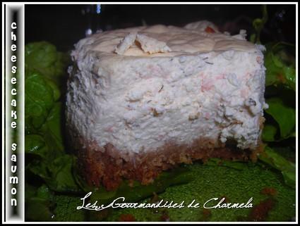 Recette de cheesecake au saumon et aneth