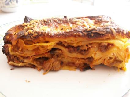 Recette de lasagnes à la chair à saucisses