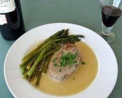 Recette filet mignon et asperges, sauce au gorgonzola
