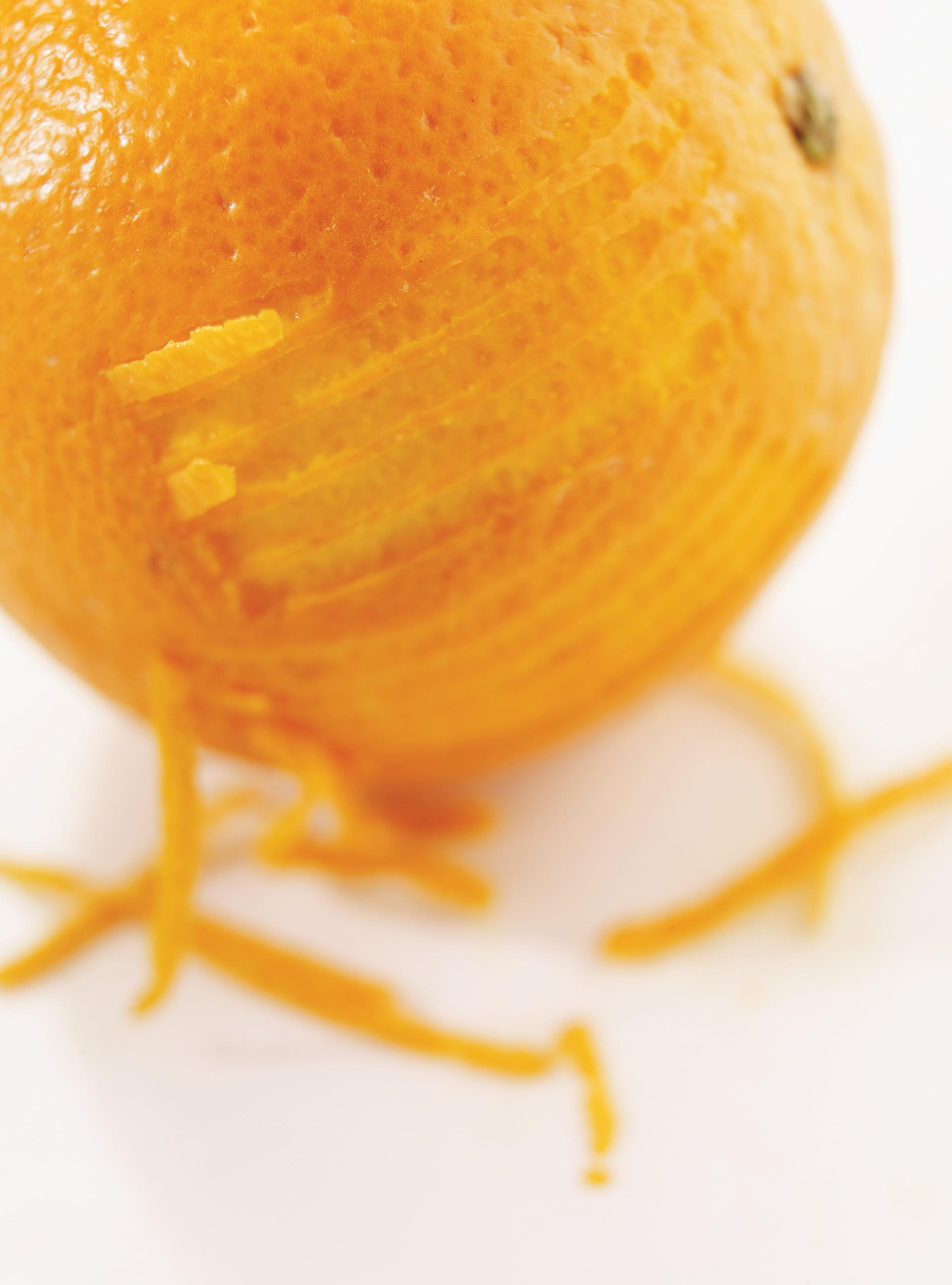 Crème fraîche à l'orange | ricardo
