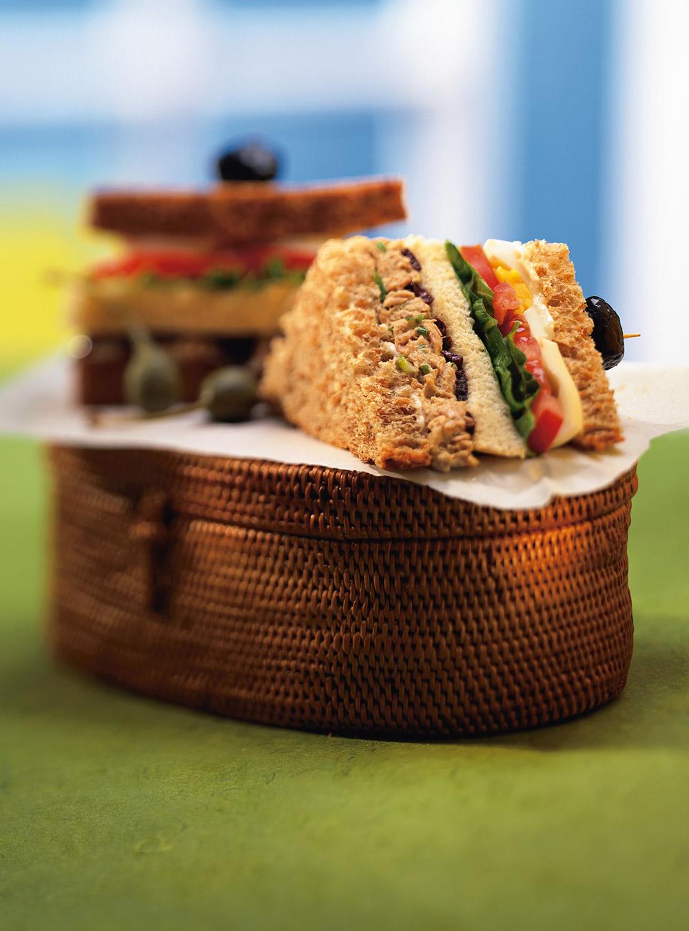 Sandwichs clubs niçois | ricardo