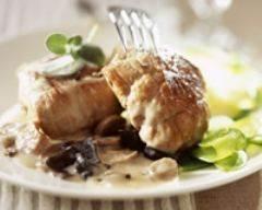 Recette paupiettes de veau au vin blanc et champignons