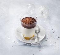 Recette de chocolat viennois au st môret réduit en sel et fruits ...