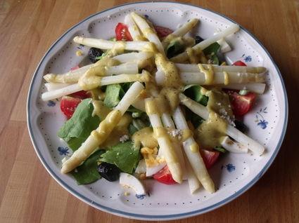 Recette de salade d'asperges