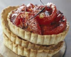 Recette tartelettes aux tomates confites vanillées