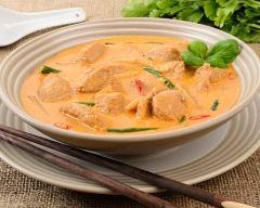 Recette soupe asiatique au poulet et aux épices