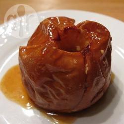 Recette pommes au four à la crème et au caramel – toutes les ...