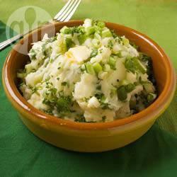 Recette pommes de terre écrasées à l'irlandaise – toutes les ...