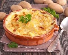 Recette gratin franc-comtois au fromage à raclette
