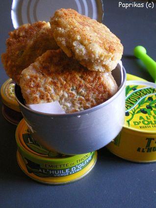Recette de bouchées croustillantes au thon