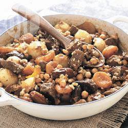 Recette tajine d'agneau aux fruits secs – toutes les recettes ...