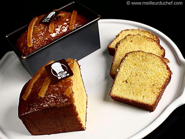 Cake à l'orange  recette de cuisine illustrée  meilleurduchef.com